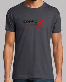 Camiseta masculina Corro luego existo