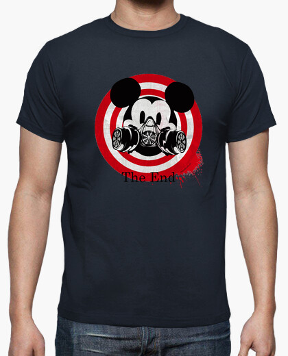 Camiseta Mask Mickey