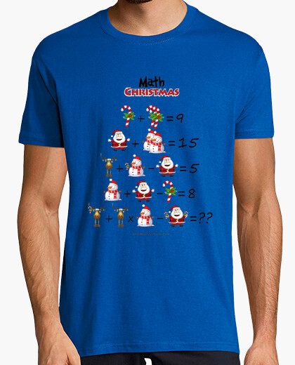 Camiseta Math Christmas