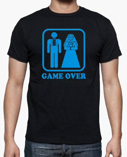 Camiseta Matrimonio = Game Over