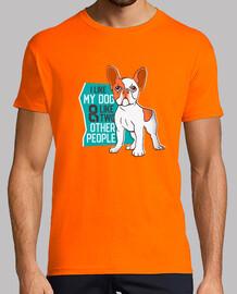 Camiseta Me gusta mi perro