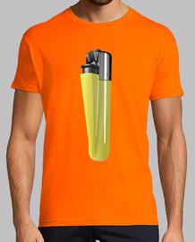 Camiseta mechero amarillo