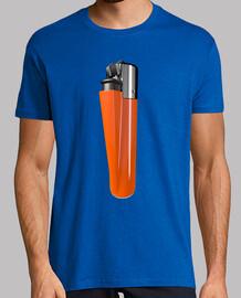 Camiseta mechero naranja