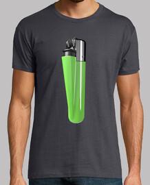 Camiseta mechero verde