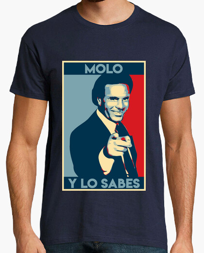 Camiseta Meme Julio Iglesias feat Obama poster