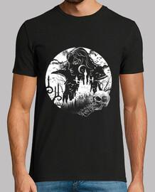 camiseta mens castillo de vampiro