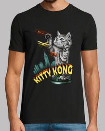 camiseta mens gatito kong