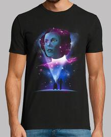 camiseta mens princesa galáctica