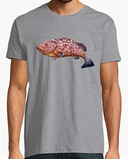 Camiseta mero Hombre, manga corta, gris vigoré, calidad extra