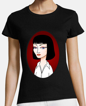 Camiseta Mia Wallace (Pulp Fiction)
