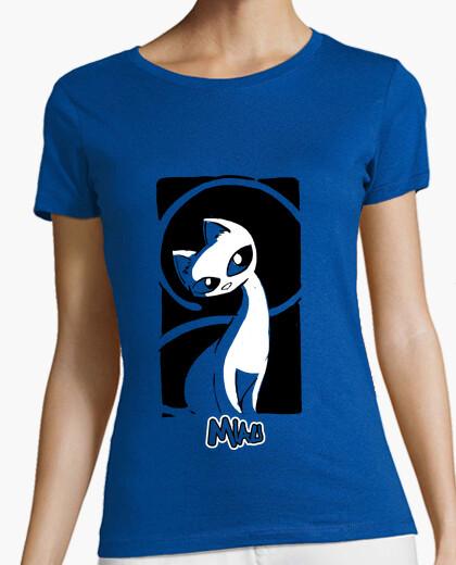 Camiseta miau 05 mujer