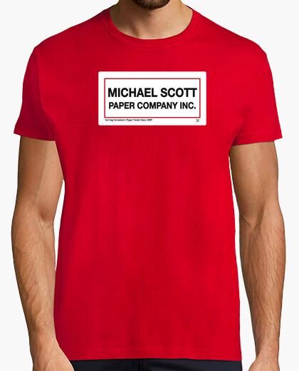 Camiseta Michael Scott Paper Company Inc....