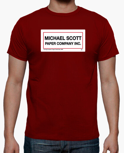 Camiseta Michael Scott Paper Company Inc. - The Office