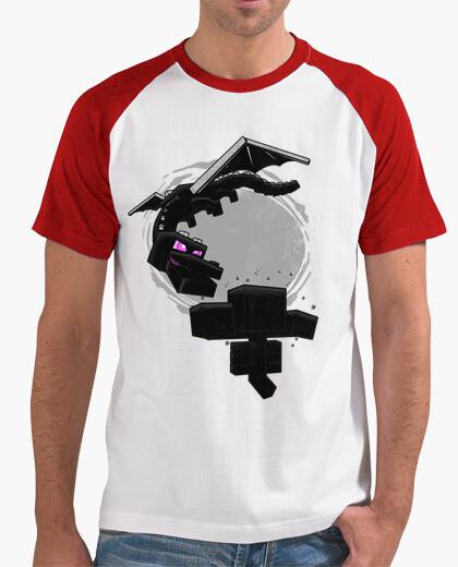 Camiseta Minecraft beisbol chico