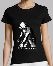 Camiseta Minero Mujer