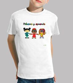 Camiseta Mírame y aprende