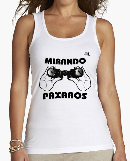 Camiseta MIRANDO PAXAROS