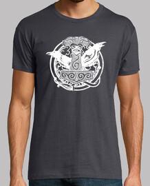Camiseta Mjolnir blanco