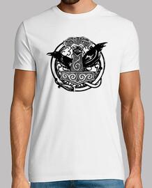 Camiseta Mjolnir Negro