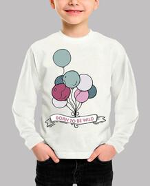 Camiseta ml - Globos libres