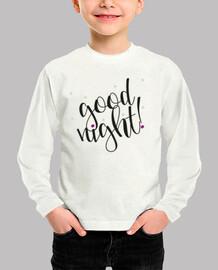 Camiseta ml - Good night