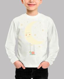 Camiseta ml - La luna y el caracol