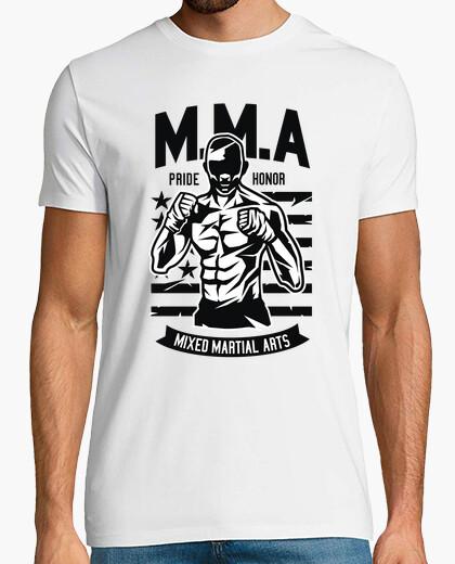 Camiseta MMA Artes Marciales Mixtas Fighter Pride Honor