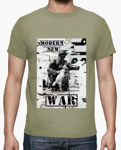 Camiseta Modern new war, another way to...