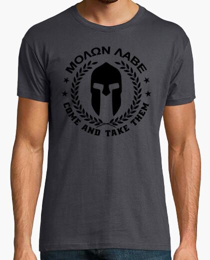 Camiseta Molon Labe mod.27