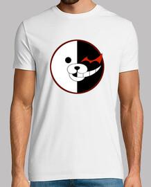 Camiseta Monokuma Logo Hombre