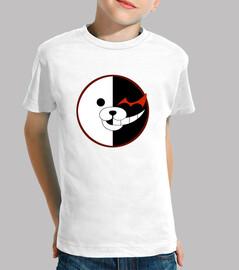 Camiseta Monokuma Logo Niño