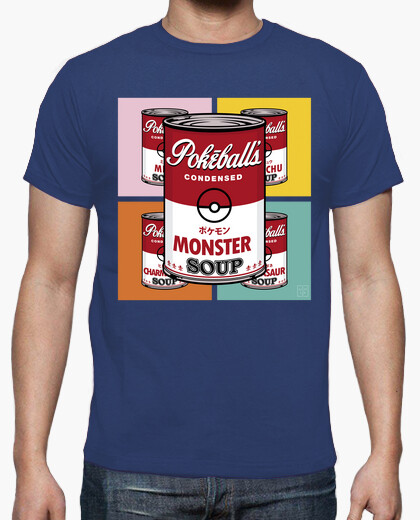Camiseta Monster soup