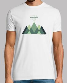 Camiseta montaña, naturaleza, senderismo, trail running, aventura, escalada