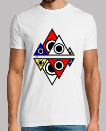 Camiseta Montañas illuminati hombre