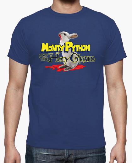 Camiseta Monty Python and the holy grail - Los caballeros de la mesa cuadrada