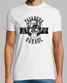 Camiseta Motera Bikers Mono Motos Garage