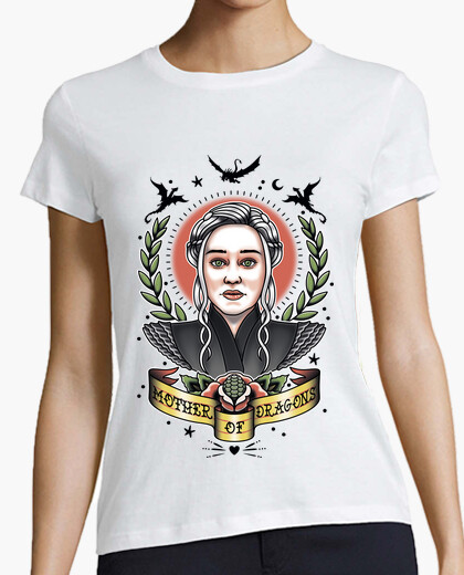 Camiseta Mother of Dragons Tattoo