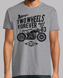 Camiseta Moto Custom Scrambler