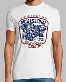 Camiseta Motores Mecánicos 1973 Tuning