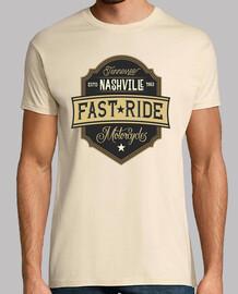 Camiseta Motoristas Moteras Nashville Retro