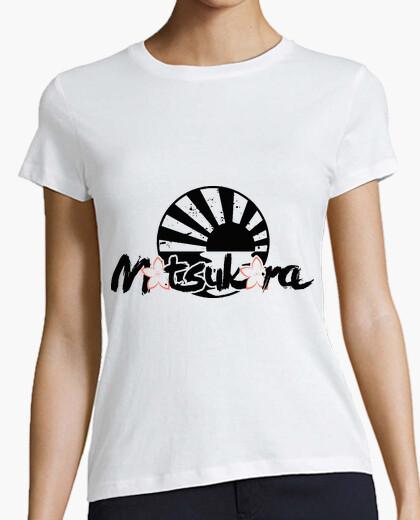 Camiseta MoTsuKora - SAKURA BLACK [CHICA]