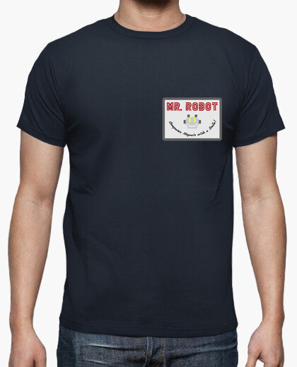Camiseta Mr Robot - Computer Repair with a Smile!