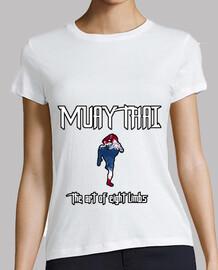 Camiseta Muay Thai mujer