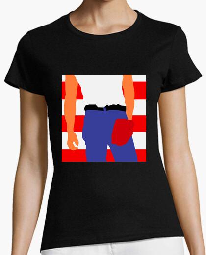 Camiseta Mujer - Born in the USA
