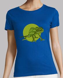 camiseta mujer - chamäleon