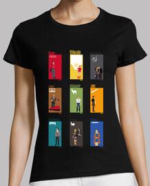 Camiseta Mujer - Cine Indie