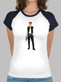 Camiseta Mujer - Han Solo