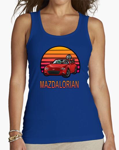 Camiseta Mujer - Mazdalorian Sun