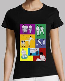 Camiseta Mujer - Naranja Mecánica