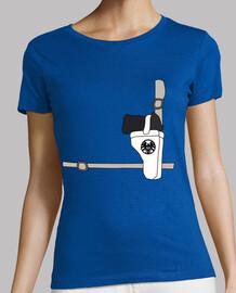 Camiseta Mujer - Nick Fury Suit